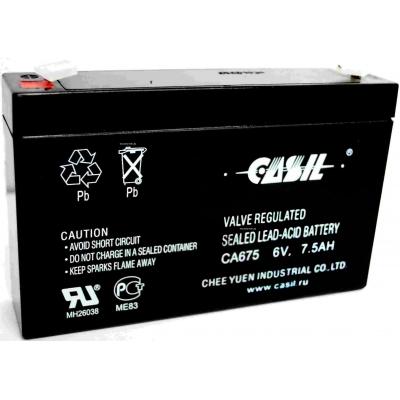 Casil CA675 6V 7,5Ah