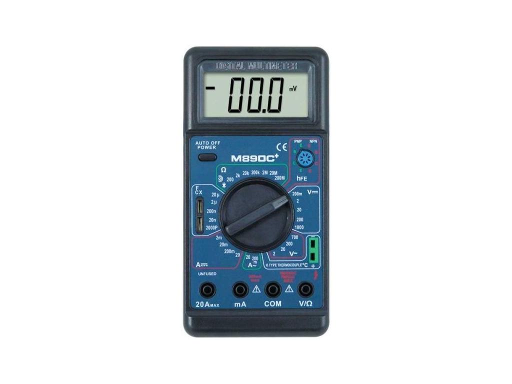 Цифровой мультиметр DT 890C